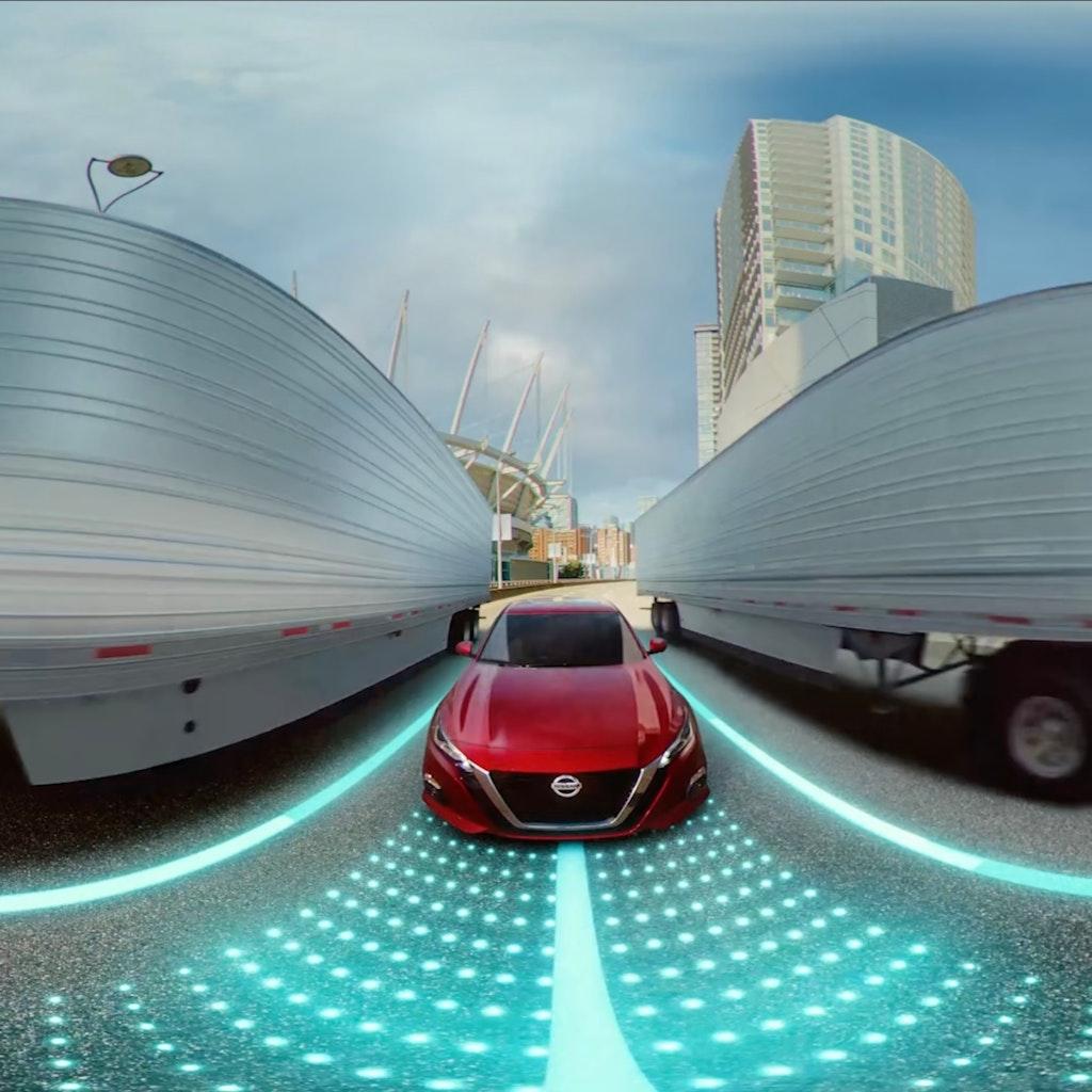 Nissan - Tech Drive 360 VR