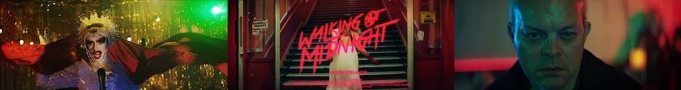 Honey Blood  /  Walking At Midnight