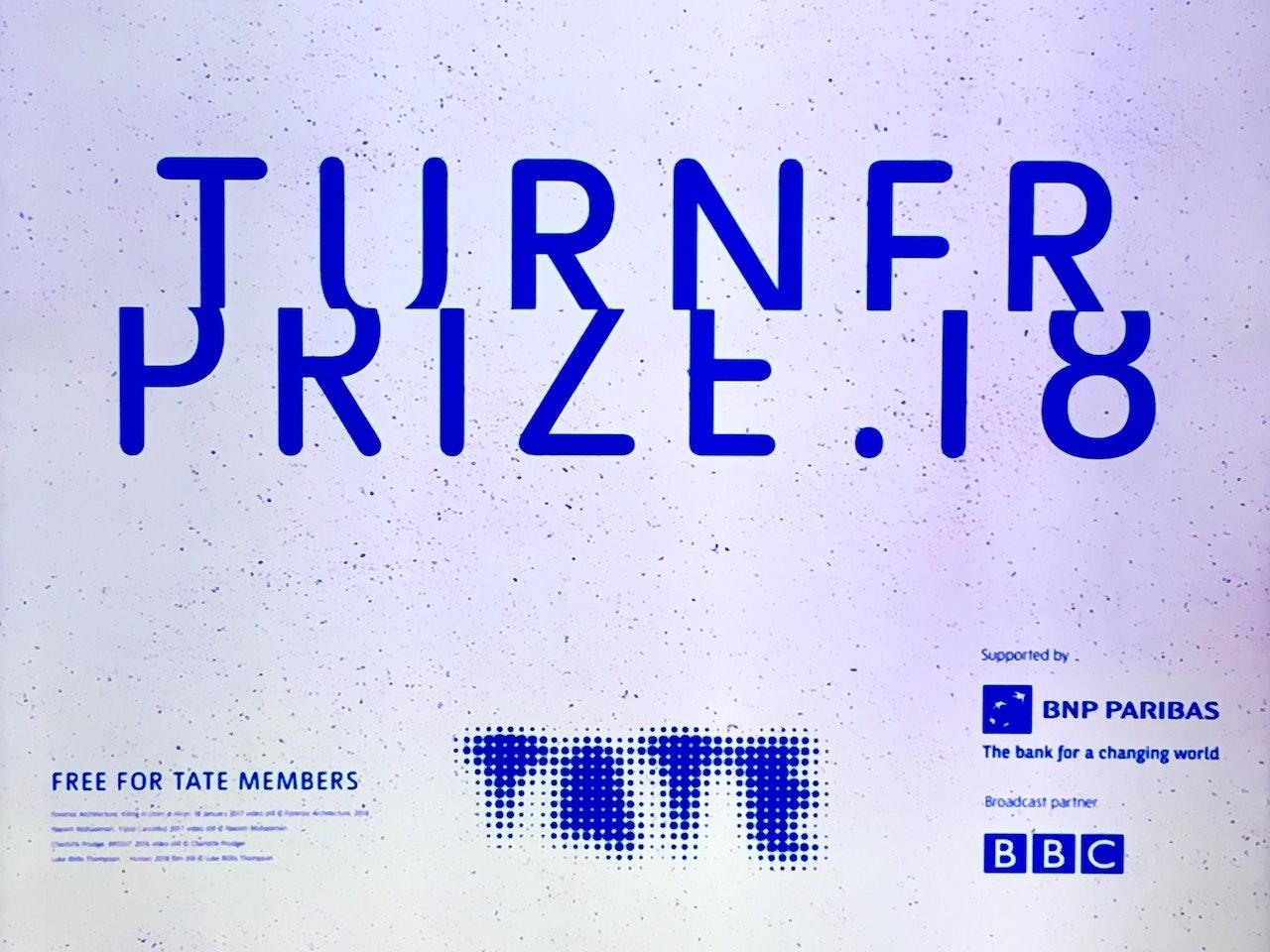 Turner Prize Nomination