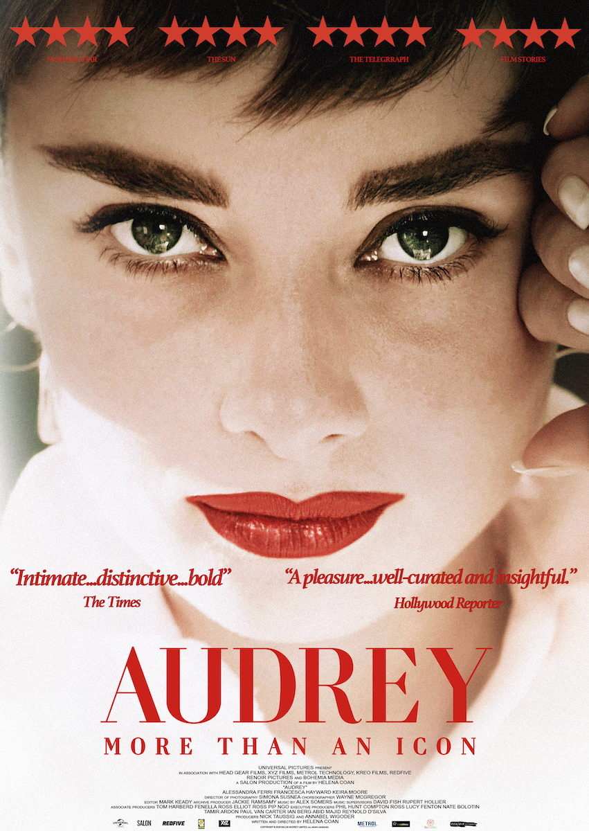 AUDREY RELEASED IN AMERICA