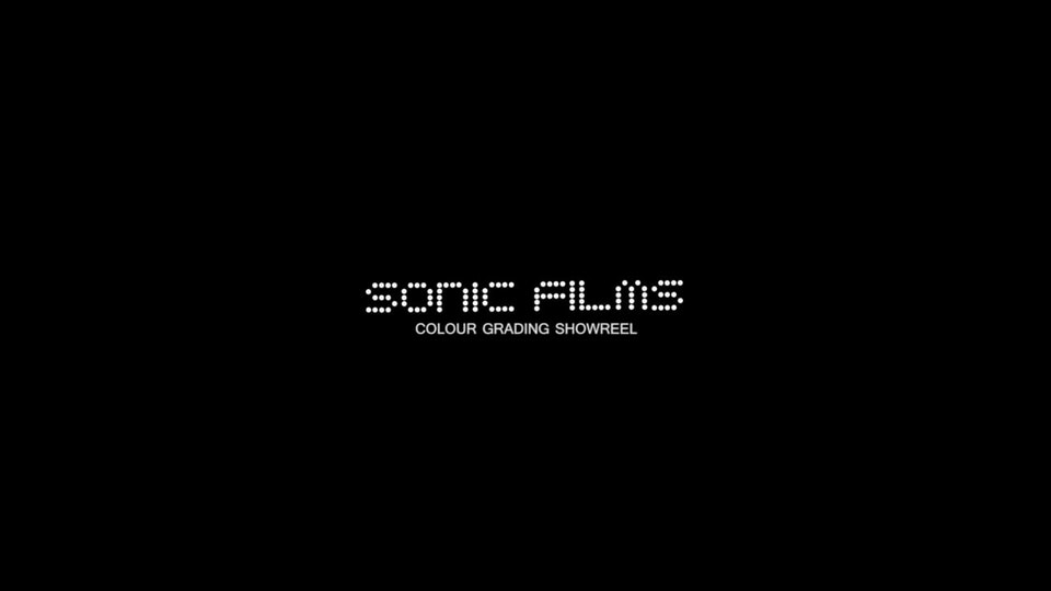 Sonic Films Colour Grading Showreel