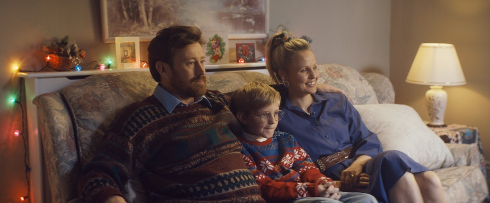 Uk Gold  //  Xmas - image from UKTV GOLD commercial colour graded at sonic films