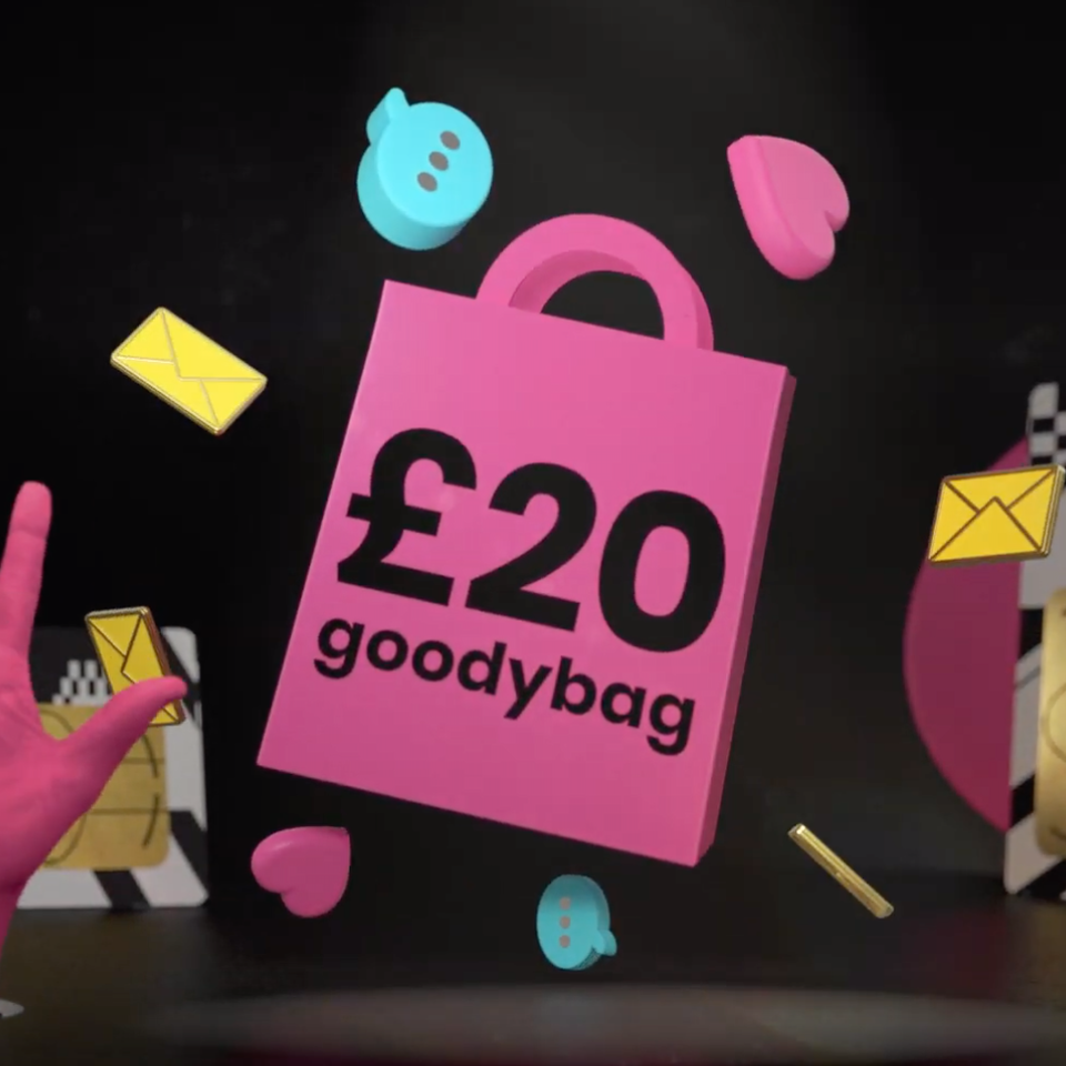 Like Minded Individuals - giffgaff £20 Goodybag