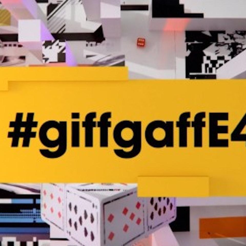 Like Minded Individuals - giffgaff E4 Sponsorship Idents
