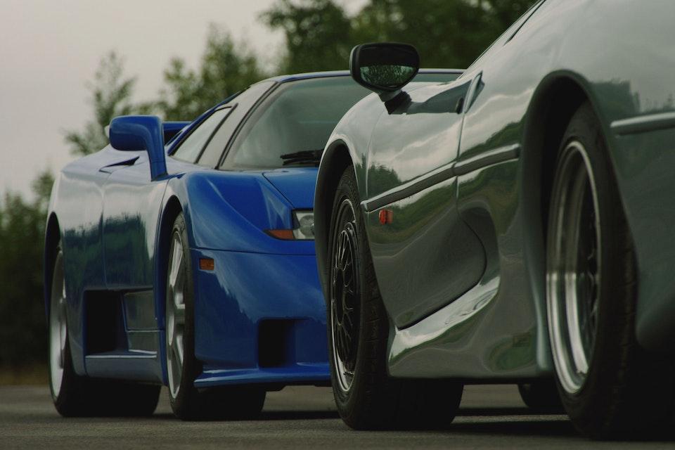 Jaguar vs Bugatti - Full Film