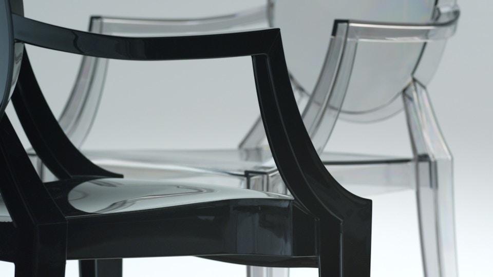 Louis Ghost Chair (trailer) dir/artist Simon Martin