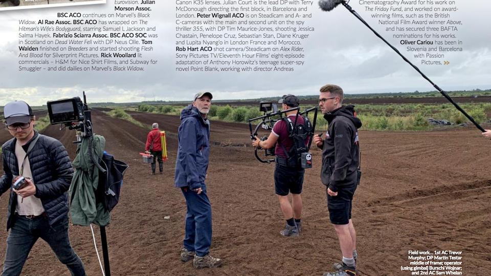 About - British Cinematographer Magazine Sep 19