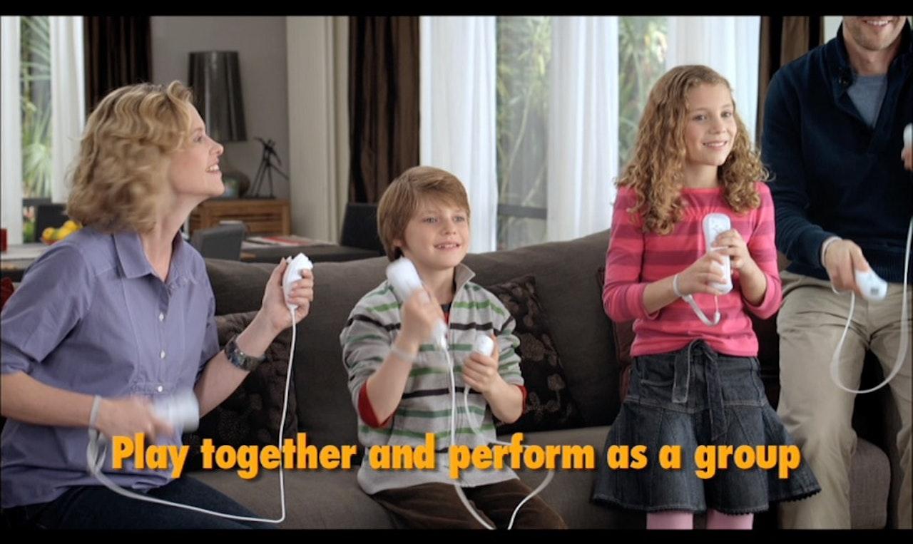 Nintendo WII music -
