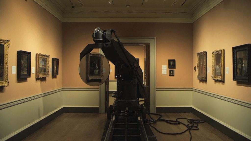 Black Mirror in National Gallery - Mark Lewis
