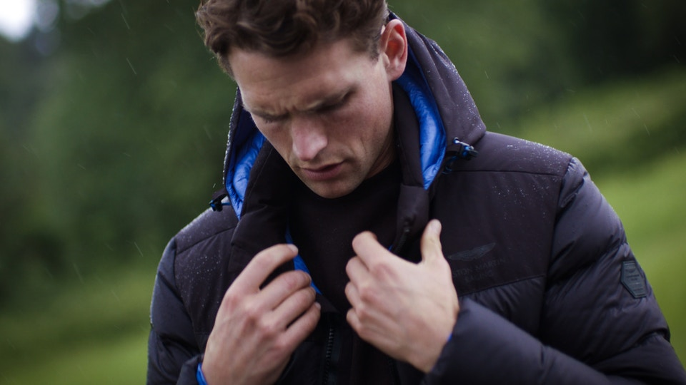 Hackett Aston Martin Autumn Collection