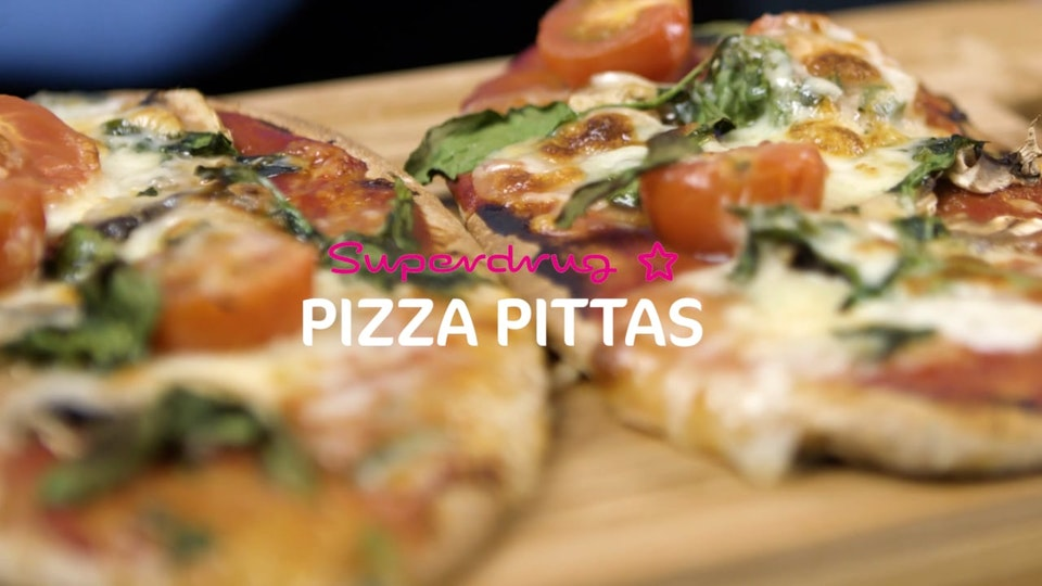 Superdrug Sugafree Snacks - Pitta Pizza