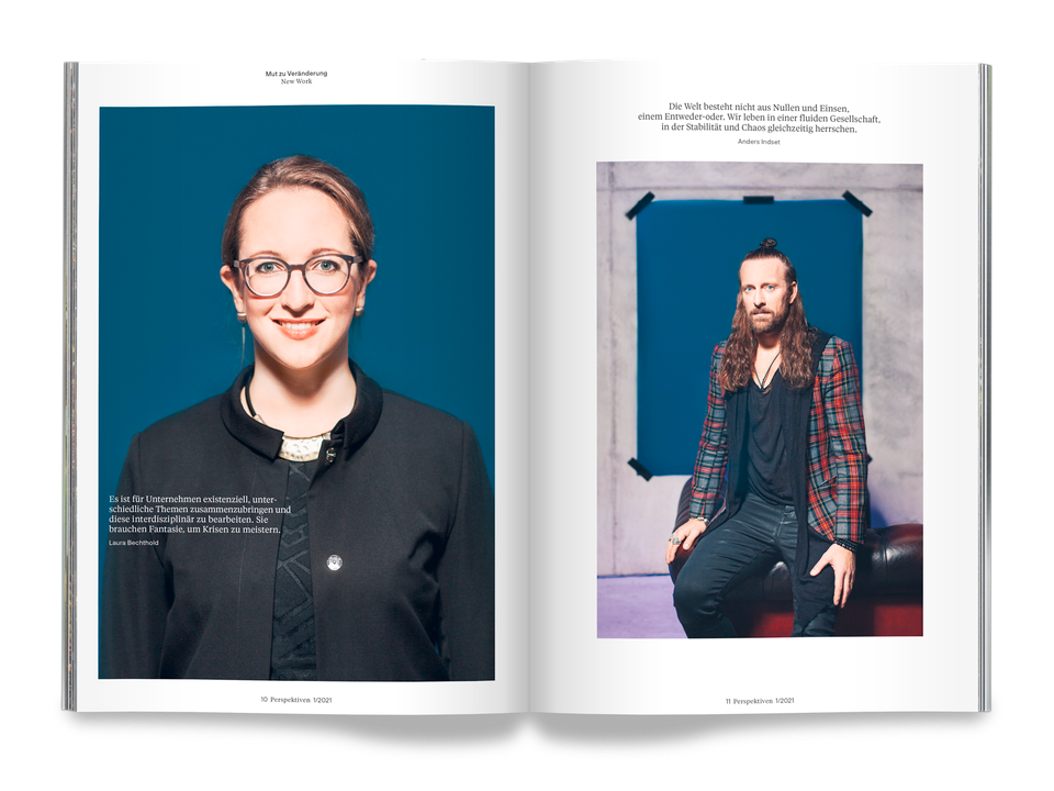 Courage – Magazine for Baden-Württemberg Stiftung