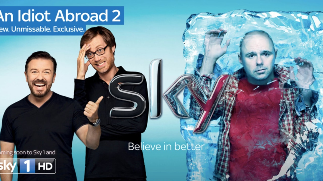 AN IDIOT ABROAD 2 - SKY ONE