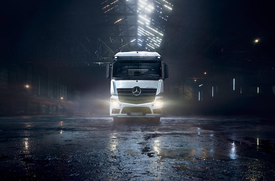 Markward Wagner - Mercedes Benz Trucks - Der neue Actros F