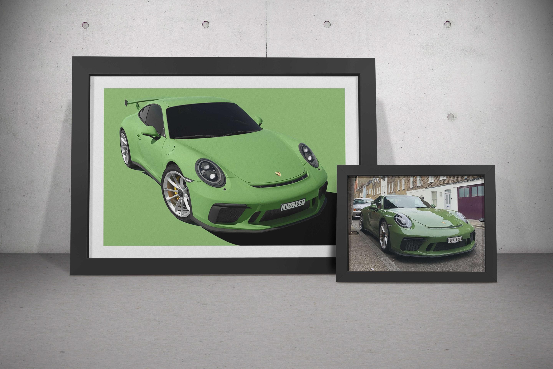 Personal Custom Automotive Artwork