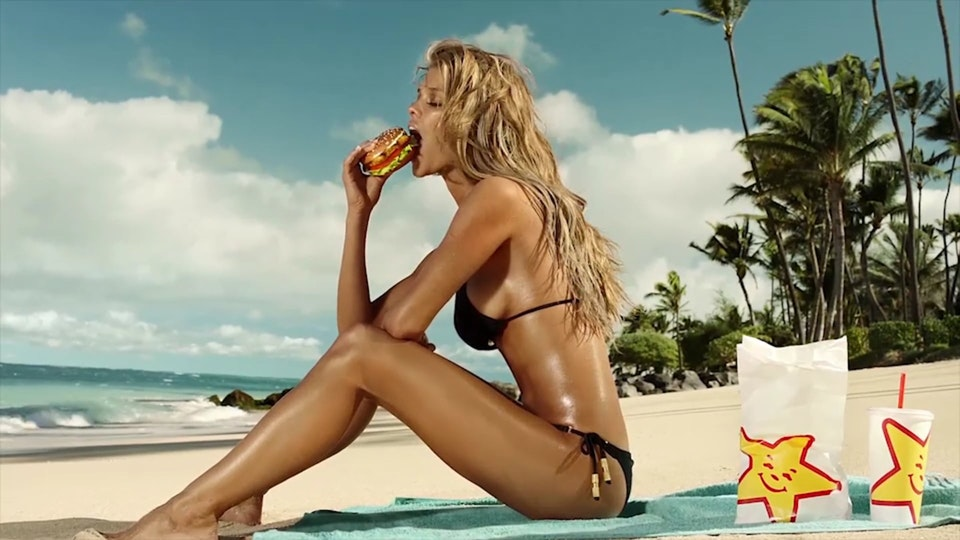 CARLS JR | Sun Tan - Dir. Chris Applebaum - Dir. Chris Applebaum
