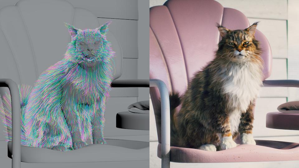 Cats Talk » The Real Scoop - Cat's Pride - VFX Breakdown