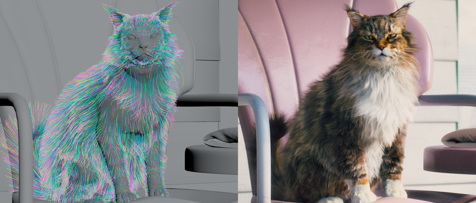 Cats Talk » The Real Scoop - Cat's Pride - VFX Breakdown