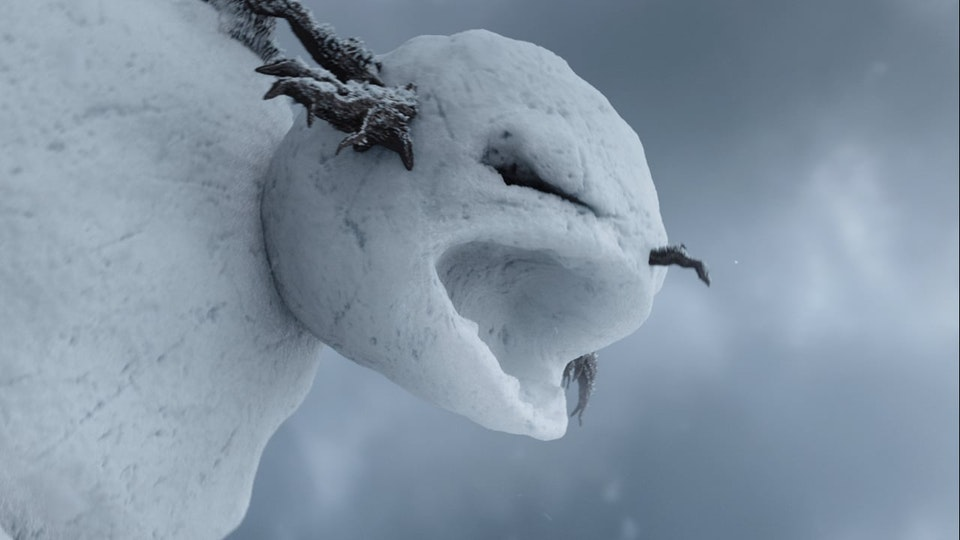 Nissan Return of the Snowman » Behind the Scenes - Nissan Return of the Snowman: Behind the Scenes