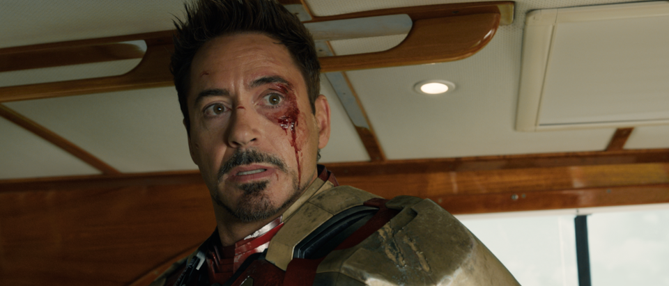 The Embassy - Iron Man 3