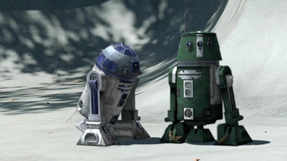"Star Wars » The Clone Wars Promos - Star Wars ""Skatepark"""