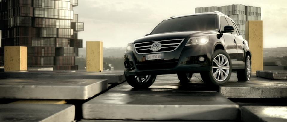 """Volkswagen Tiguan » Moving City Volkswagen Tiguan """"Moving City"""""""
