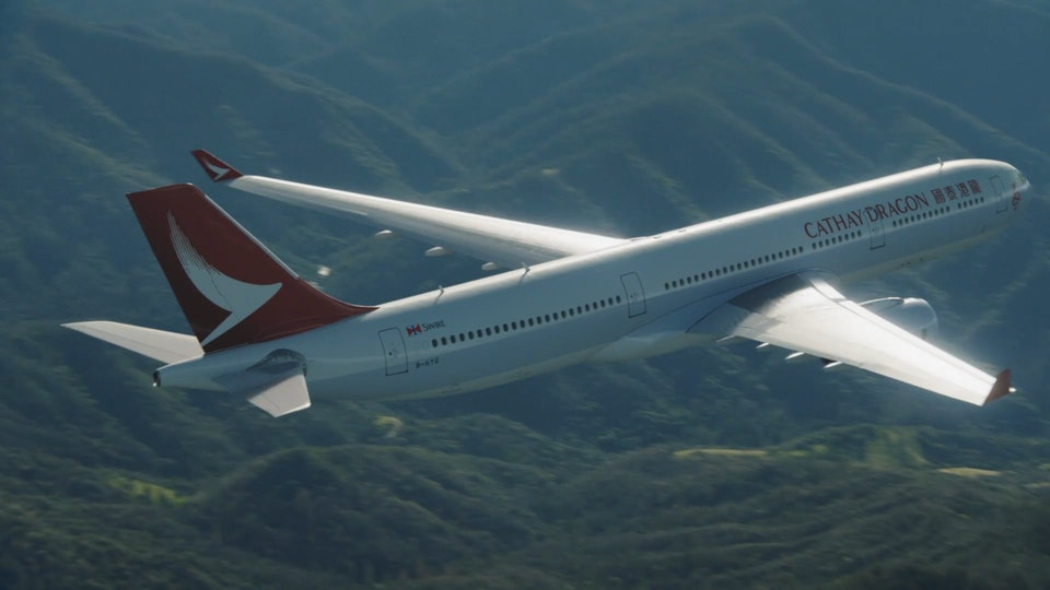 Cathay Pacific » VFX Breakdowns - Cathay Pacific - VFX breakdowns