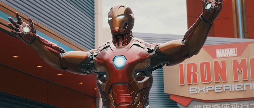 Hong Kong Disneyland » Iron Man Hong Kong Disneyland - Iron Man