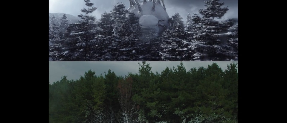 The Embassy - Nissan Return of the Snowman » VFX Before & After