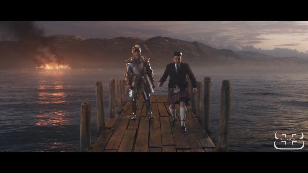 Johnny English Strikes Again VFX Reel