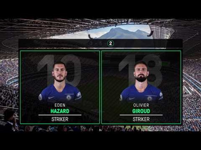 Line Up - Chelsea