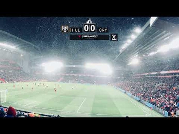 Clock - Hull vs. Crystal Palace