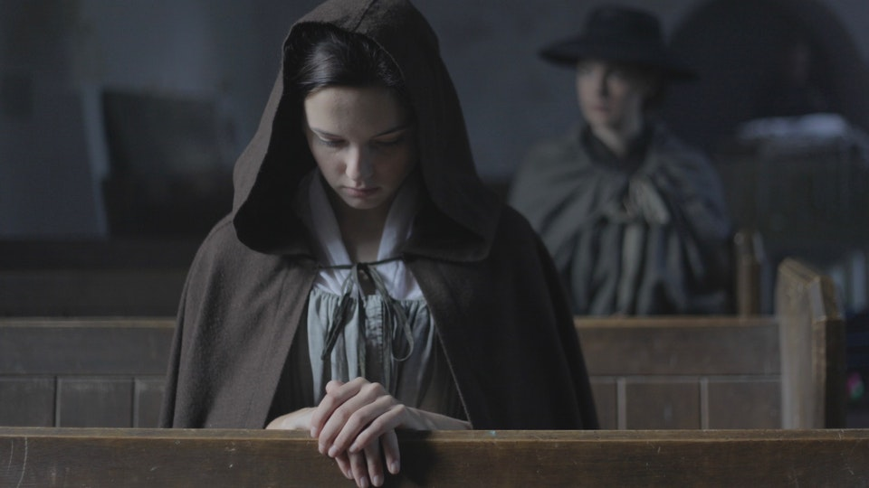 Carmilla - Hannah Rae (front) and Jessica Raine (back). Picture taken by Dan Hodgson