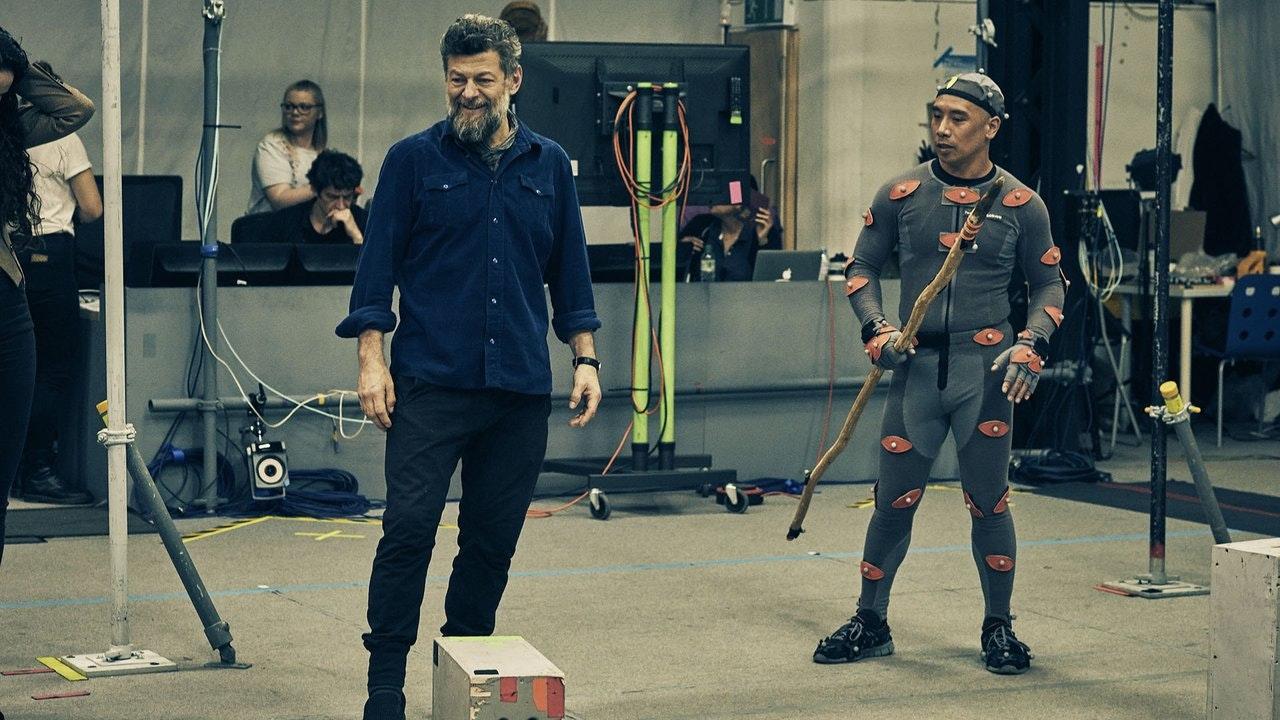 Neanderthals: Meet Your Ancestors - Andy Serkis on set at The Imaginarium Studios