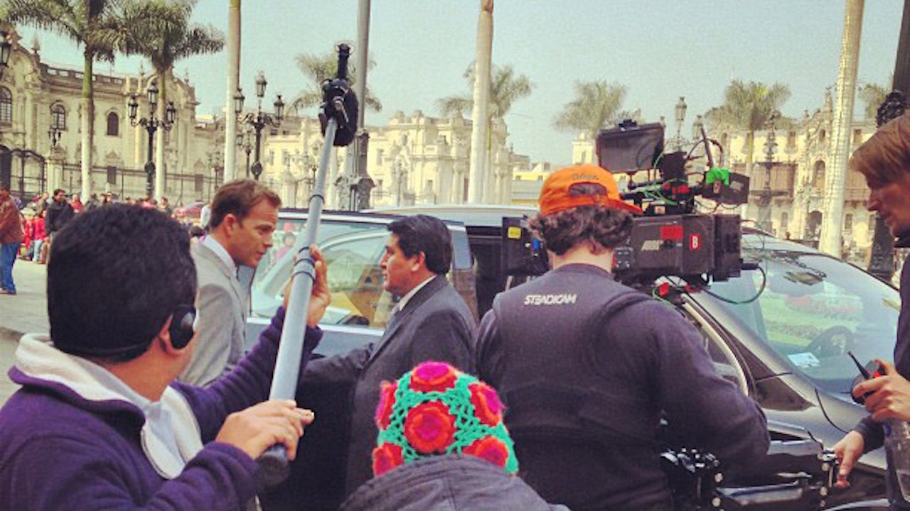 The Debt - Boom op Percy Soto on location in Lima, Peru
