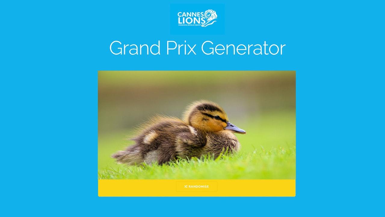 Grand Prix Generator