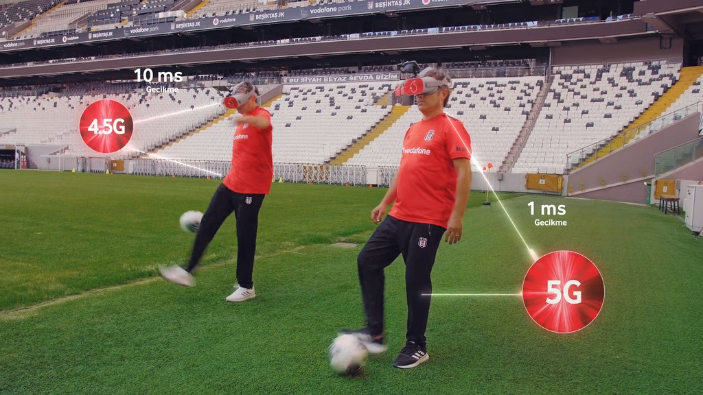 Vodafone - Efsanelerle Vodafone Supernet 5G'yi test ettik!