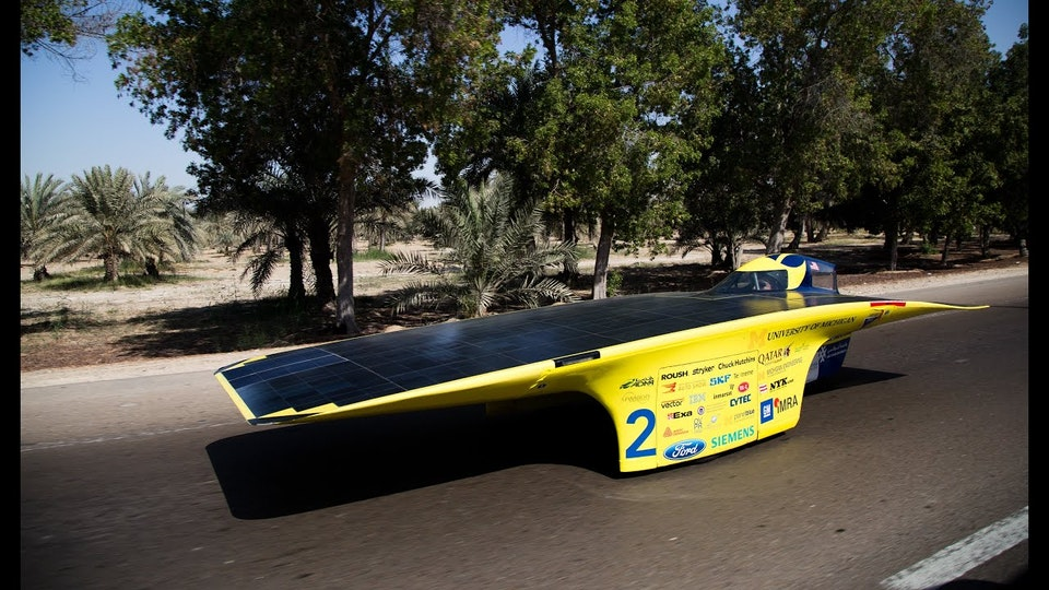 Solar Car - Video, Photography