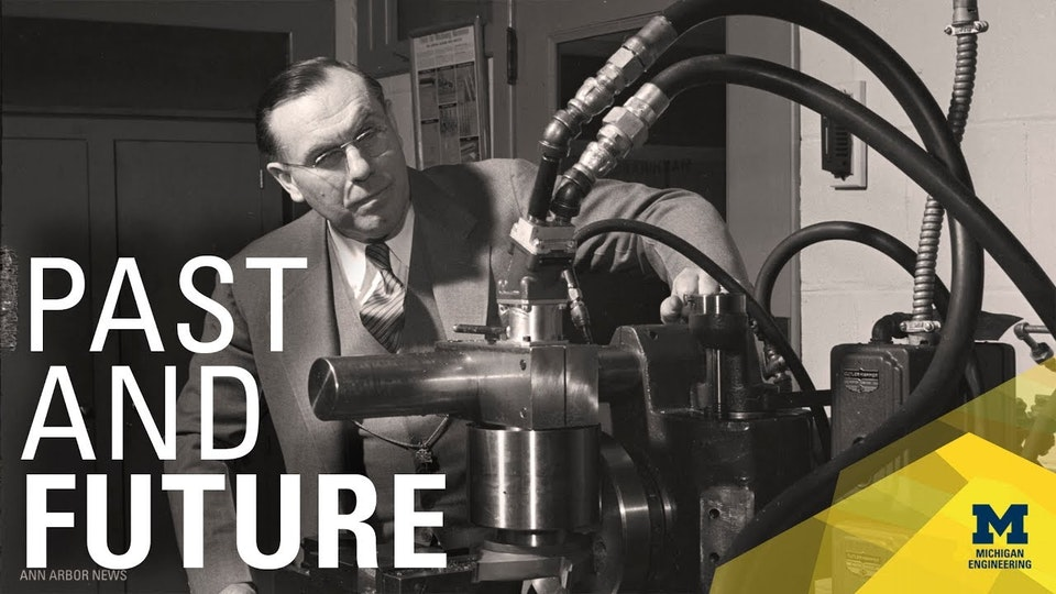 VIDEO - 150 Years of Mechanical Engineering at Michigan