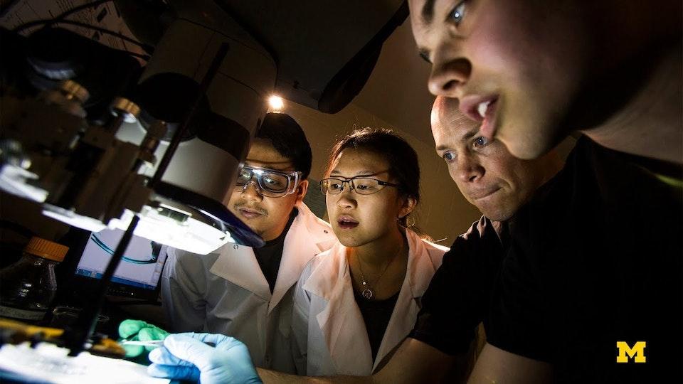 VIDEO - 50 Years of Biomedical Engineering at Michigan