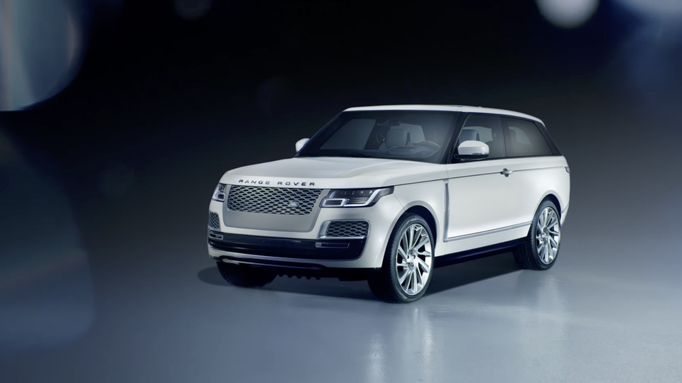 Range Rover - SV Coupe