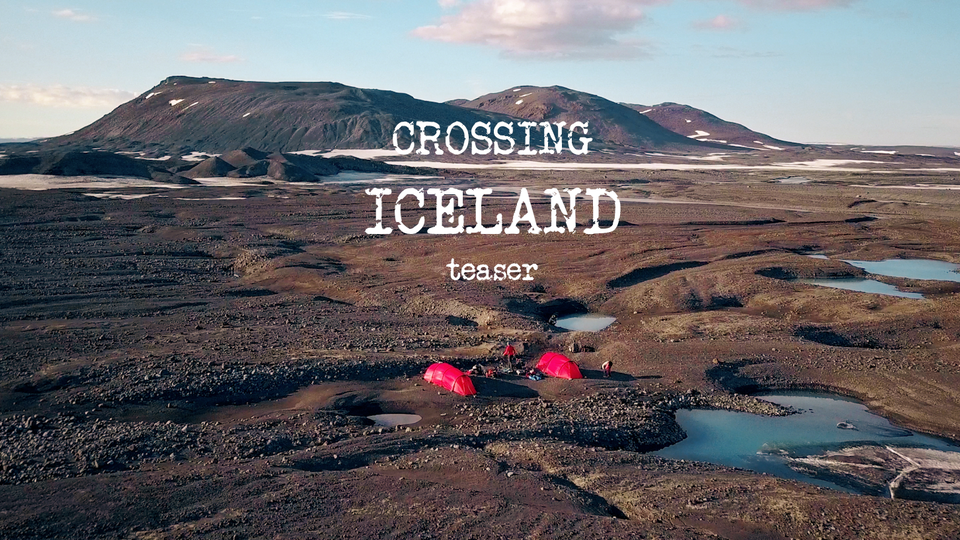 JZ PRODUCTIONS - Teaser Iceland Crossing 2018, for Explora Project