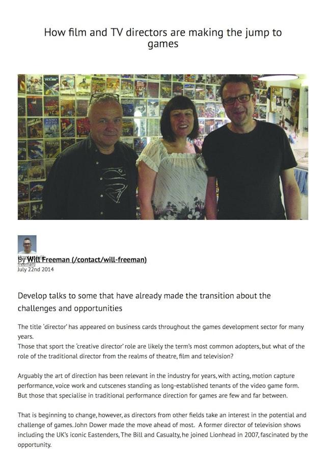 Develop article July 2014