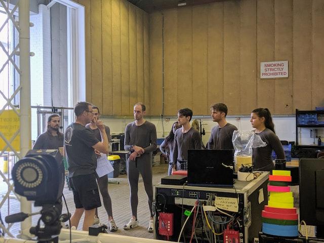 John talks to cinematics students 2