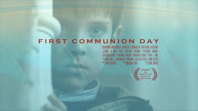 First Communion Day Poster with crest D2