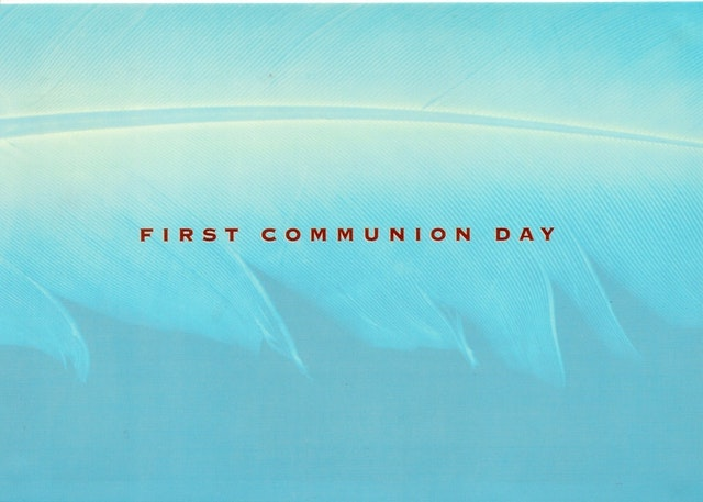 First Communion Day - poster