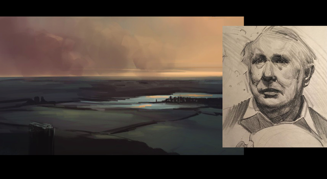 Landscape & man 2