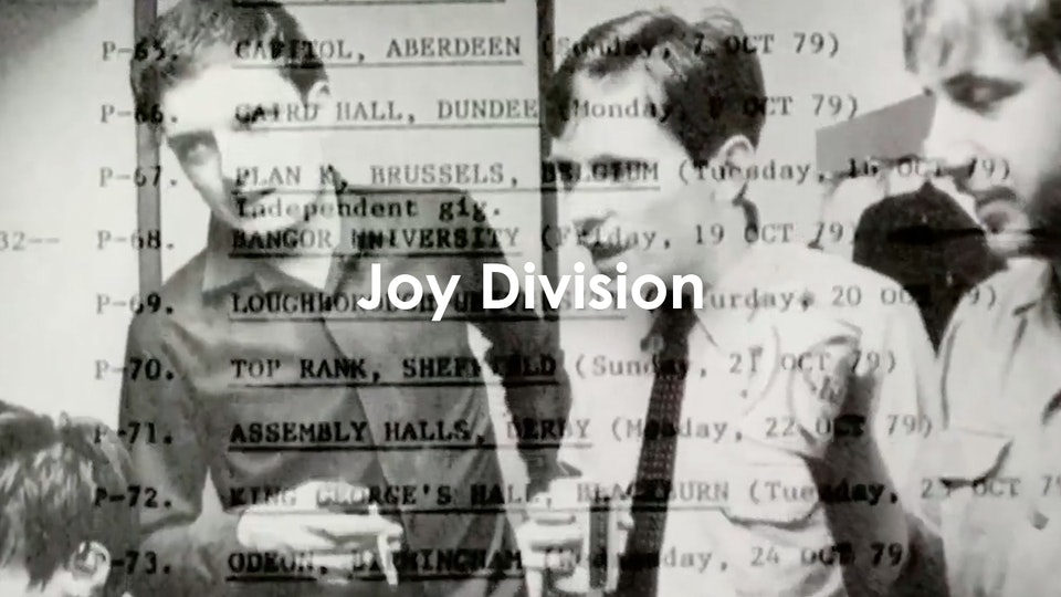 Grant Gee - Joy Division