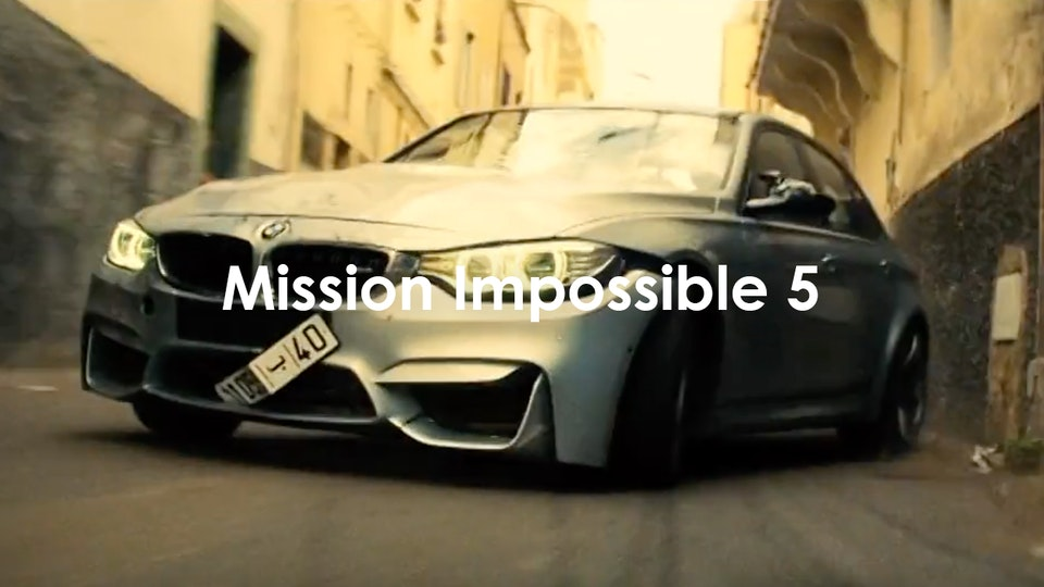 Jonathan Taylor - Mission Impossible 5