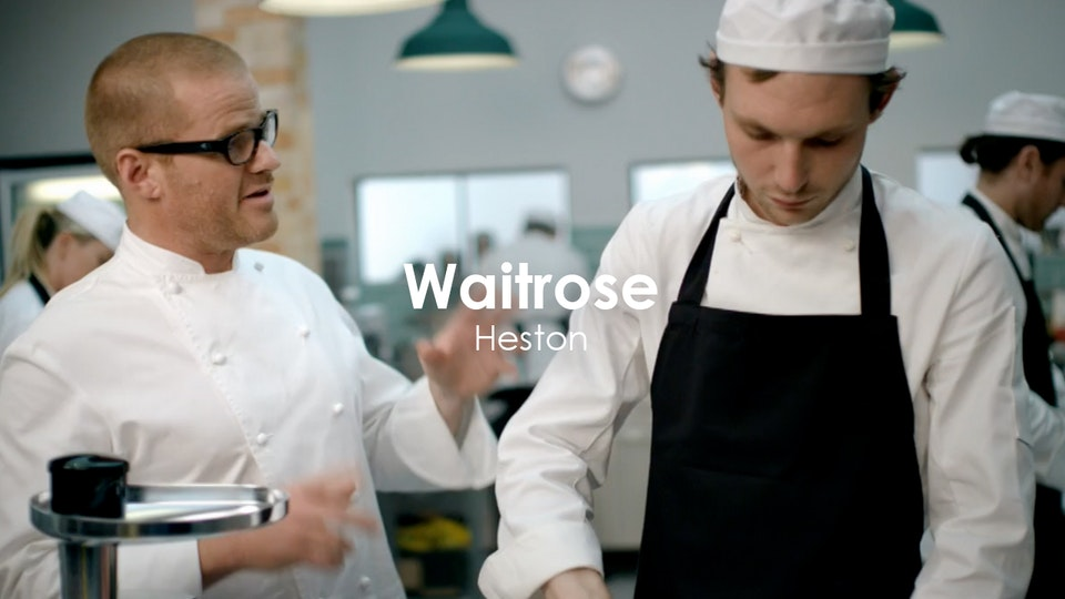 Stuart Bateup - Waitrose - Heston Blumenthal